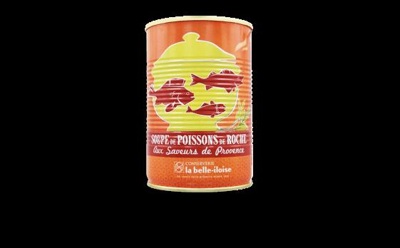 Soupe de poissons de roche aux saveurs de Provence - Conserverie la belle-iloise