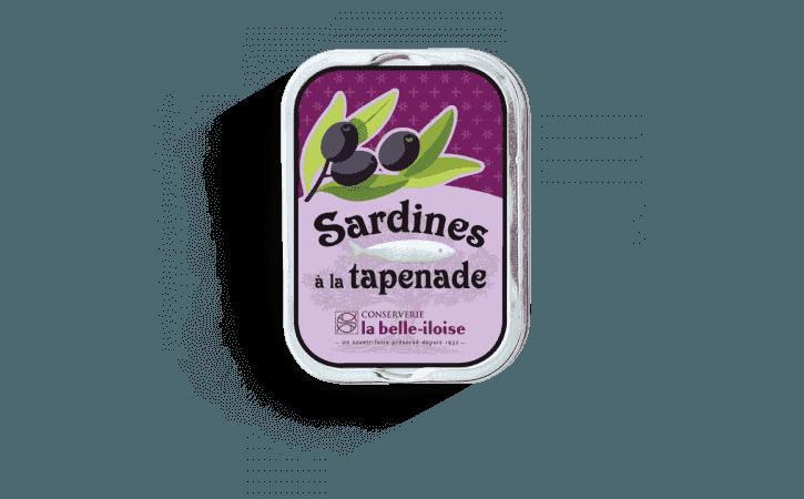 Sardines à la tapenade - Conserverie la belle-iloise
