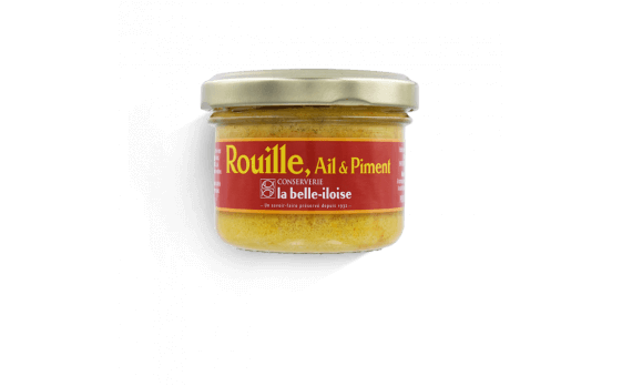 Chilli and garlic rouille sauce - 3 tins of 80g