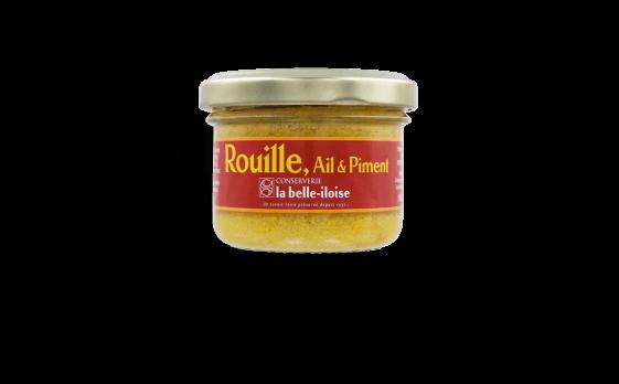 Sauce rouille ail et piment - Conserverie la belle-iloise