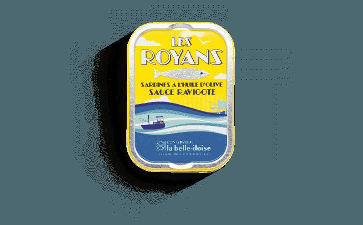Sardines les Royans à la sauce ravigote - Conserverie la belle-iloise