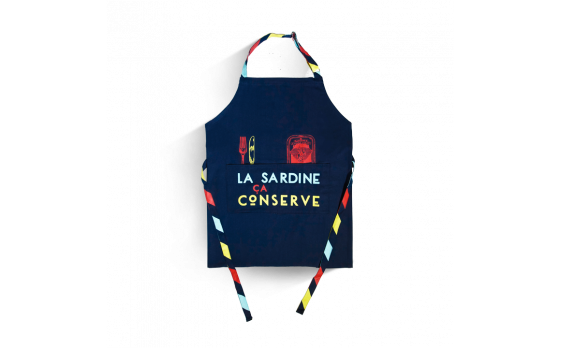Le tablier ''La sardine, ça conserve !''