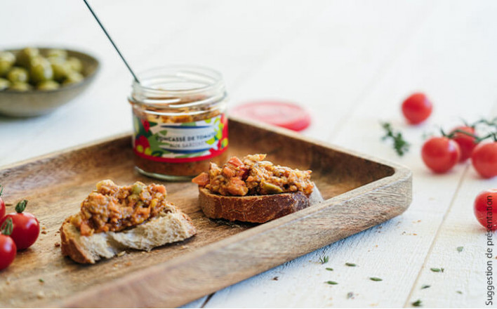 Concassé de tomates aux sardines - 2 verrines de 105g - La Belle Iloise