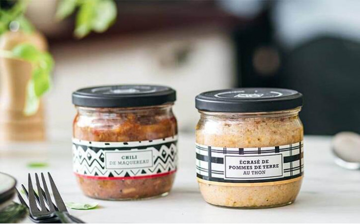 Assortment of 2 recipes - 2 jars of 300g ea. - La Belle Iloise