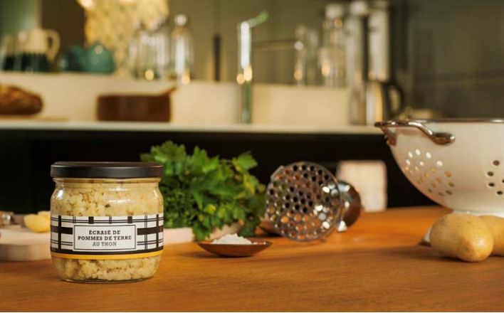 Écrasé de pommes de terre au thon - 2 bocaux de 300g - La Belle Iloise