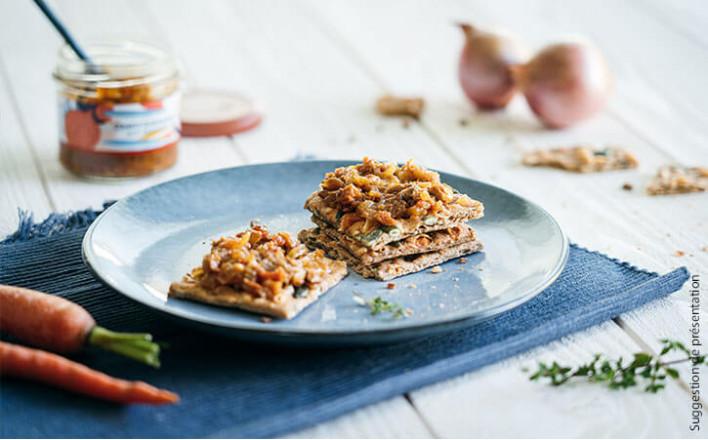 Confit d'oignons aux anchois - 2 verrines de 105g - La Belle Iloise