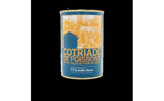 Fish cotriade - 12 tins of 400g ea.