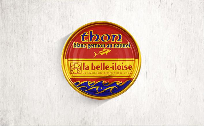 Thon blanc germon au naturel - 5 boîtes de 207g - La Belle Iloise