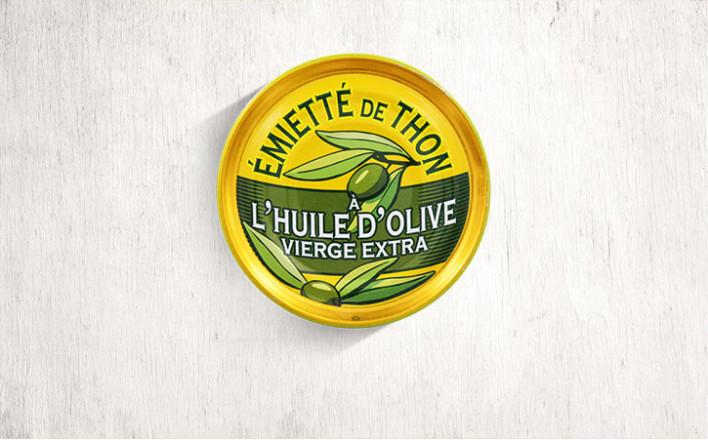 Émietté de thon à l'huile d'olive - 5 boîtes de 80g - La Belle Iloise
