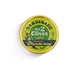 Sardinade with two olives -...