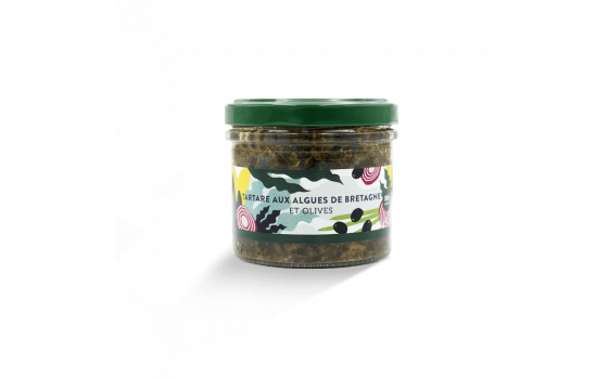 Brittany seaweed and olive tartare  - 2 jars of 100g ea.