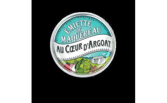 Émietté de maquereau Au Coeur d'Argoat - 5 boîtes de 160g
