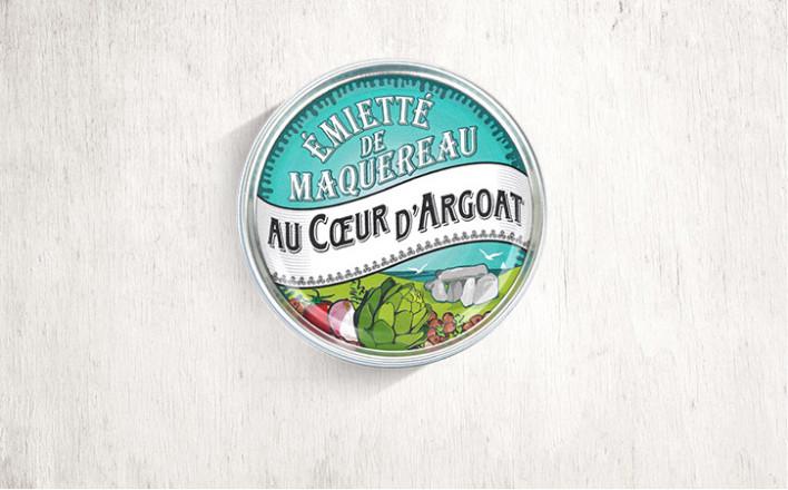 Émietté de maquereau Au Coeur d'Argoat - 5 boîtes de 160g - La Belle Iloise