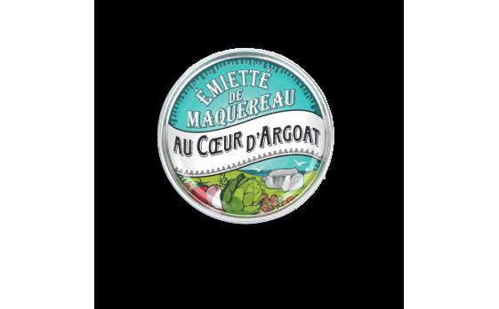 Émietté de maquereau Au Coeur d'Argoat - 5 boîtes de 80g