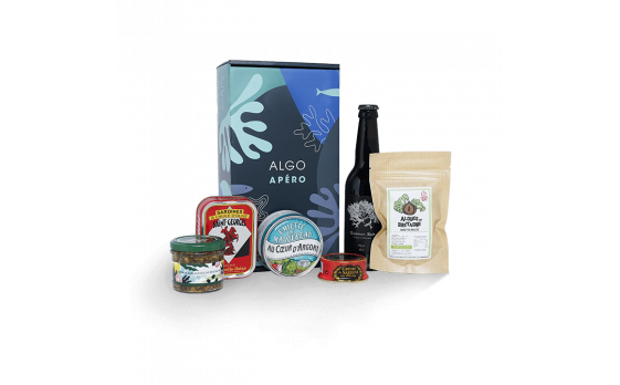 Seaweed aperitif Gift box