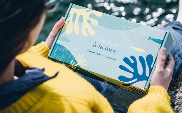 Ode to the sea Gift box la belle-iloise x Algologie - La Belle Iloise