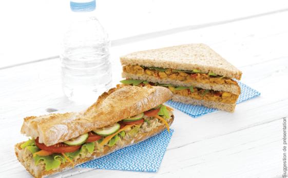Assortiment de 5 préparations pour sandwich
