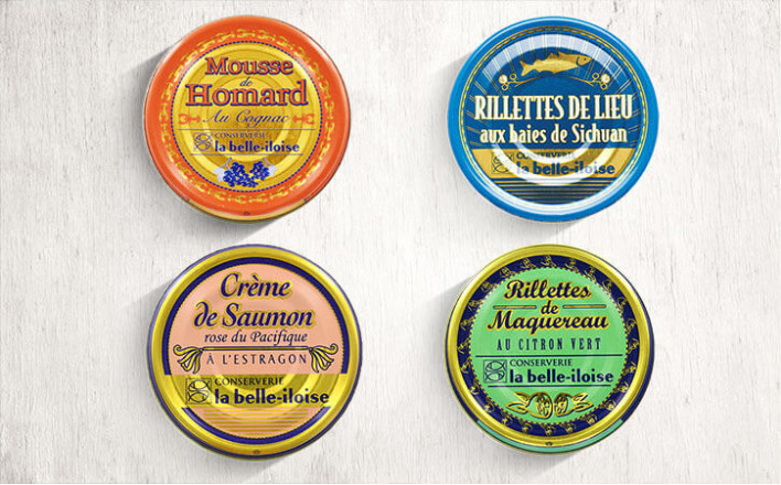 Assortiment de 4 tartinables de 130g - La Belle Iloise
