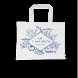 Sardines organic cotton bag