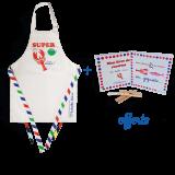 """Super chef"" children apron"