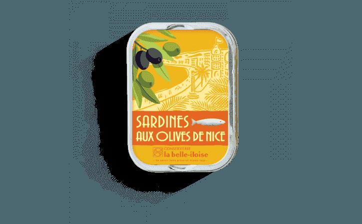 Sardines aux olives de Nice - Conserverie la belle-iloise