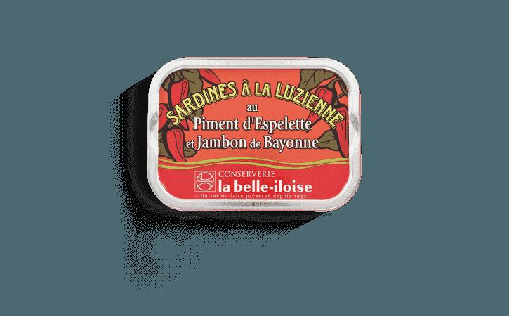 Sardines à la Luzienne - Conserverie la belle-iloise