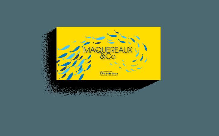 Coffret Maquereaux & Co-Conserverie la belle-iloise