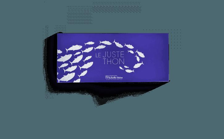 Coffret ''Le juste thon'' - Conserverie la belle-iloise
