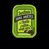 Boneless sardines in olive...