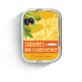 Sardines with olives from...