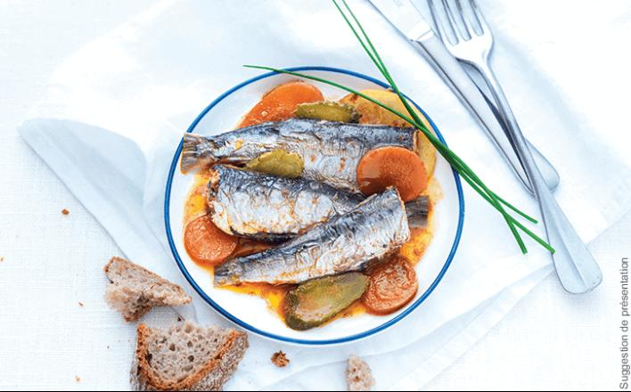 Sardines les Royans à la sauce ravigote - 5 boîtes de 115g - La Belle Iloise