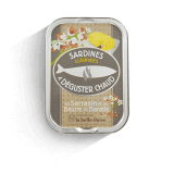Sardines with churned...