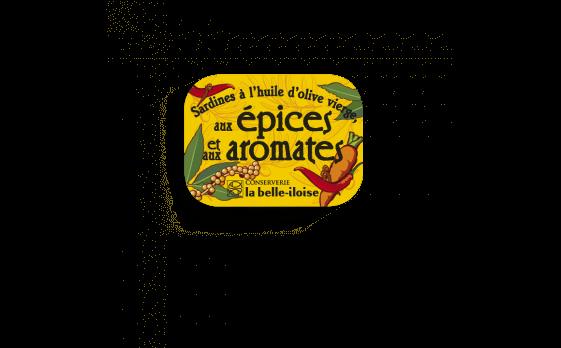 Boîte à Sardines épices et aromates