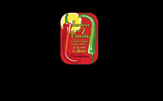 Boîte à Sardines aux 2 piments