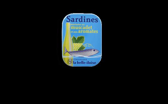 Boîte à Sardines marinées au muscadet