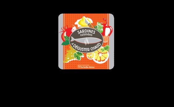 Boîte à Sardines à déguster chaud