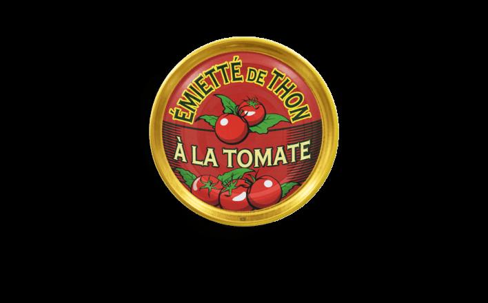 Émietté de thon à la tomate - 5 boîtes de 160g - La Belle Iloise