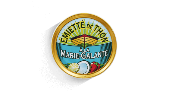 Marie-Galante crumbled tuna - 5 tins of 160g ea.
