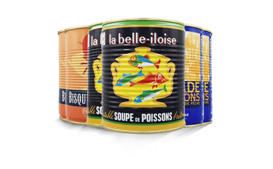 Assortiment de soupes de poissons 1/1