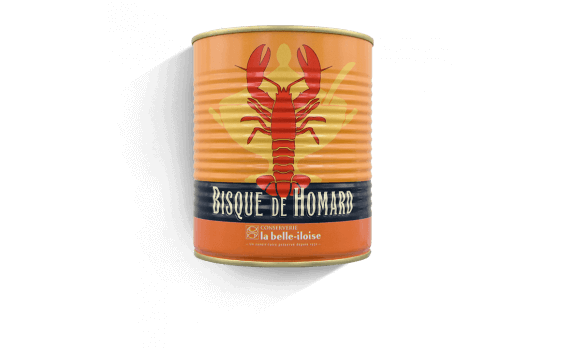 Lobster bisque - 6 tins of 800g ea.