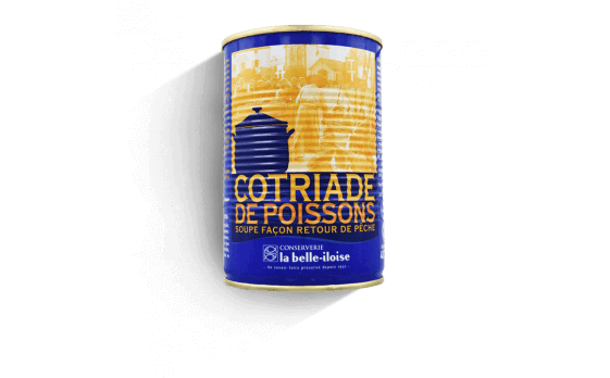 Fish cotriade - 12 tins of 400g ea.