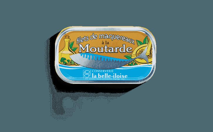 Filets de maquereaux à la moutarde - Conserverie la belle-iloise