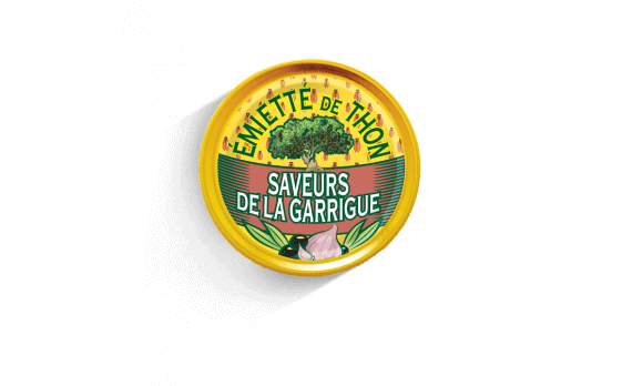 Flavours of the Garrigue crumbled tuna - 5 tins of 80g ea.