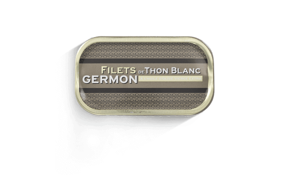 Fillets of albacore (Germon) tuna - 3 tins of 69g ea.