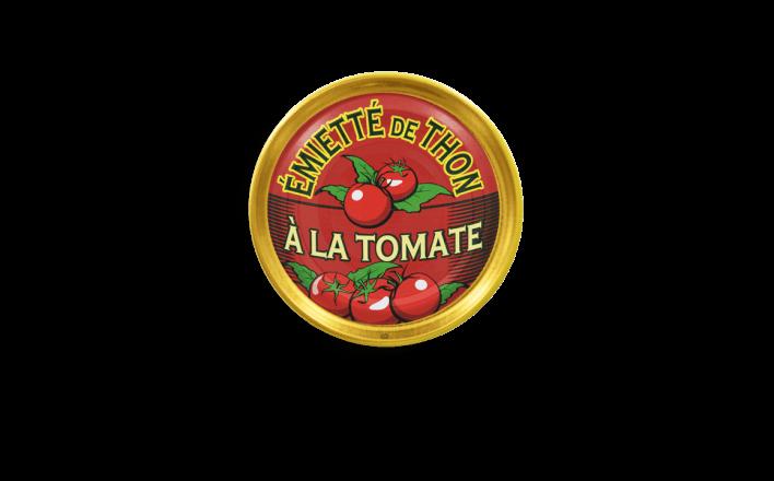 Émietté de thon à la tomate - 5 boîtes de 80g - La Belle Iloise