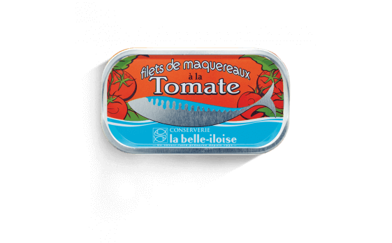 Mackerel fillets with tomato - 5 tins of 112,5g ea.