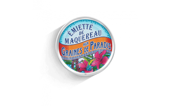 crumbled mackerel with Grains of Paradise - 5 tins of 80g ea.