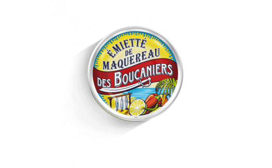 Buccaneers' crumbled mackerel - 5 tins of 80g ea.