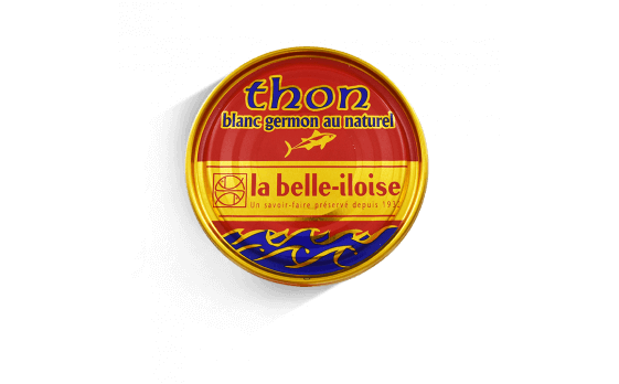 Albacore (Germon) tuna au naturel - 5 tins of 207g ea.