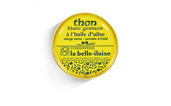 Albacore (Germon) tuna with olive oil - 5 tins of 160g ea.